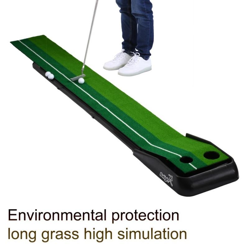 Balançoire de Golf exercices de Golf pratique de mise tapis d'entraînement facile à transporter et à plier aide à l'entraînement tapis de pratique de Golf balançoire de Golf
