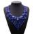 New Hot sale V Em Forma de Jóia de Cristal Cheio de Luxo Collar Noble Nupcial Vestido de Noiva Strass Colar Declaração Collar B4418