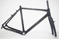 3k Carbon Cyclocross v Brake Road Frame Cyclo Cross Bike Frame Fork 51/53/55/57cm