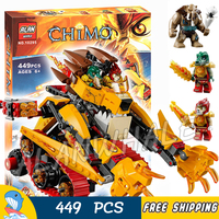 449pcs Laval's Fire Lion Mobile Mech Transform Tank Figure 10295 Building Blocks Children Classic Toy Compatible With LegoING