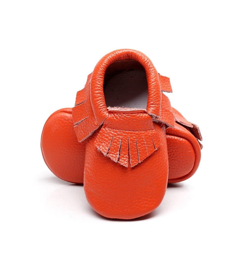 Tassel Genuine Leather Baby Shoes Girls Boys Fringe Soft Soled Baby Moccasins Infant Newborn Baby Girl First Walker Shoes 0-24M