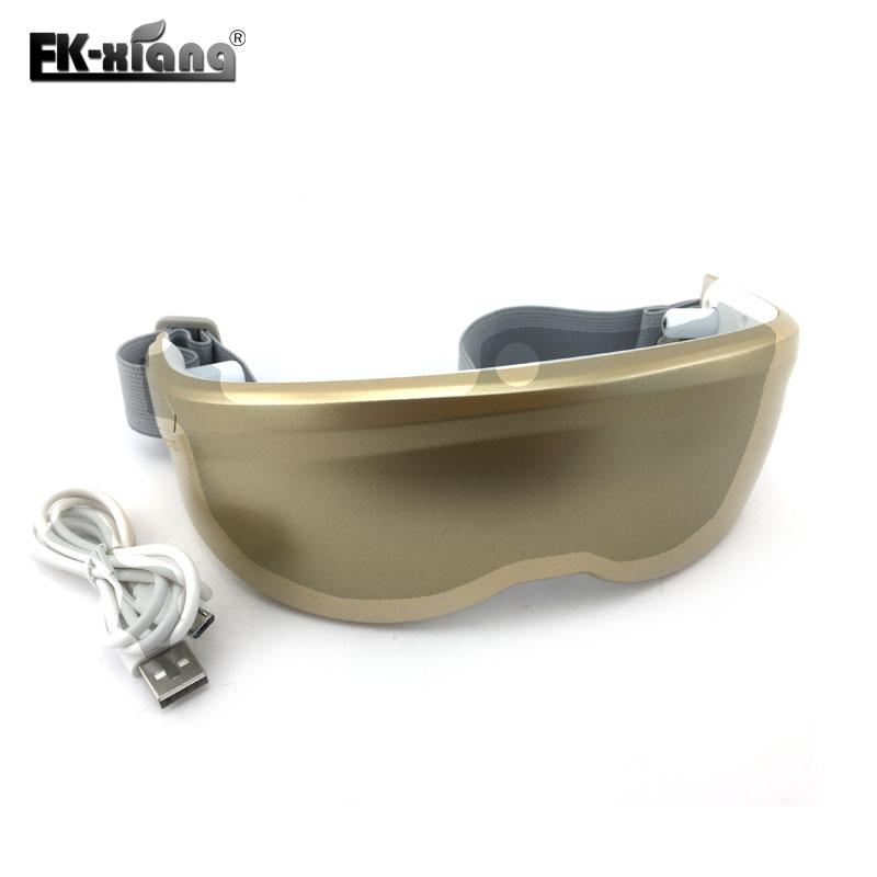 ¡ NUEVO! Moda USB Mini masajeador de Ojos Cabeza de Control De Tacto. Vibración Eléctrica Terapia Magnética Acupuntura Masajeador de Ojos Gafas
