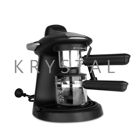 Household Italian Coffee Machine with handle Automatic Espresso Maker Milk Foam Coffee machine TSK-1822A coffee machine cleaning brush plastic handle nylon bristles filter net cleaner coffee maker brushes household appliance part