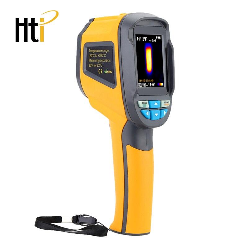 HT-18 ручной Термографическая камера Инфракрасная тепловая камера HT18 Цифровой Инфракрасный Тепловизор с 2,4 дюймовым цветным ЖК-дисплеем - Цвет: HT-02D