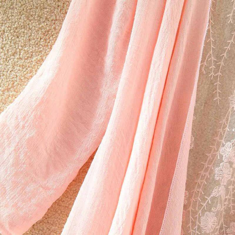 ผู้หญิงชีฟองเสื้อ Kimono Cardigan ลูกไม้ยาวเสื้อ Ruffles Hollow OUT หลวม Cardigans 2020 ฤดูใบไม้ผลิฤดูร้อนเสื้อหญิง