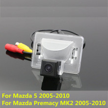 170 Degree CCD Car Rear View Reverse Backup Parking Camera For Mazda 5 Premacy MK2 2005 2006-2010 CX-9 Waterproof Night Vision