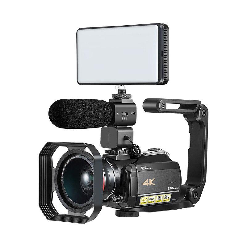 Winait professionnel haute qualité UHD 4 k Wifi caméra vidéo numérique avec 3.0 ''écran tactile usage domestique caméscope vidéo numérique