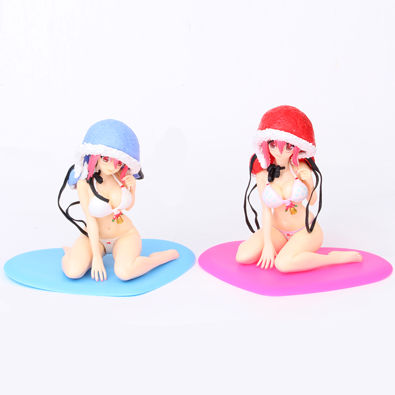Super Sonico Drink Holder Red Bikini Ver Furyu Figure Figurine No Box