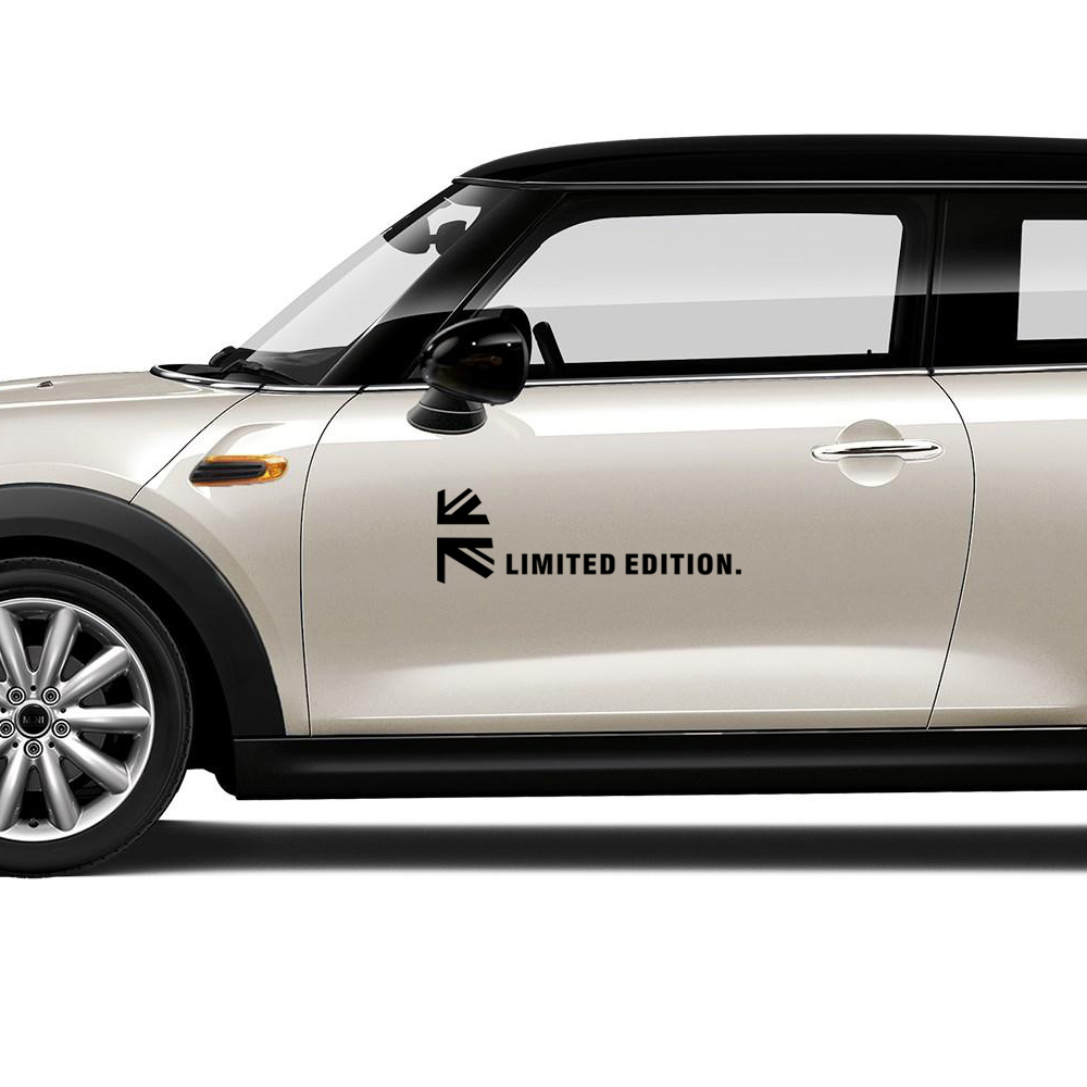 Union Jack Decoration Door Side Body Stickers Decal for Mini Cooper One JCW Countryman Clubman Paceman r61 r60 r56 r53 f56 f60 ニュー ビートル オーバー フェンダー