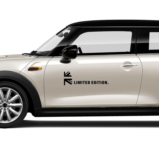 Us 814 48 Offunion Jack Decoration Door Side Body Stickers Decal For Mini Cooper One Jcw Countryman Clubman Paceman R61 R60 R56 R53 F56 F60 In