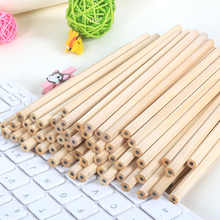 100pcs/ lot Eco-friendly Natural Wood Pencil HB Black Hexagonal Non-toxic Standard Pencil Cute Stationery Office School Supplies - DISCOUNT ITEM  0% OFF All Category