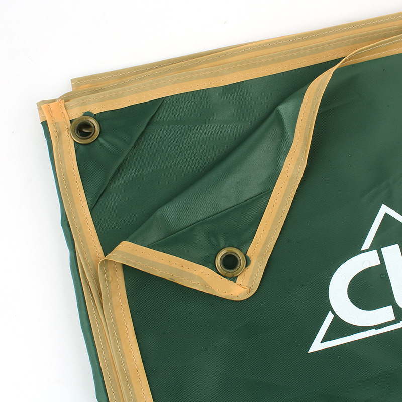 Outdoor Camping Cloth Moisture Tarpaulin Tent Picnic Mat Shade Canopy Rain Cover Poncho Large