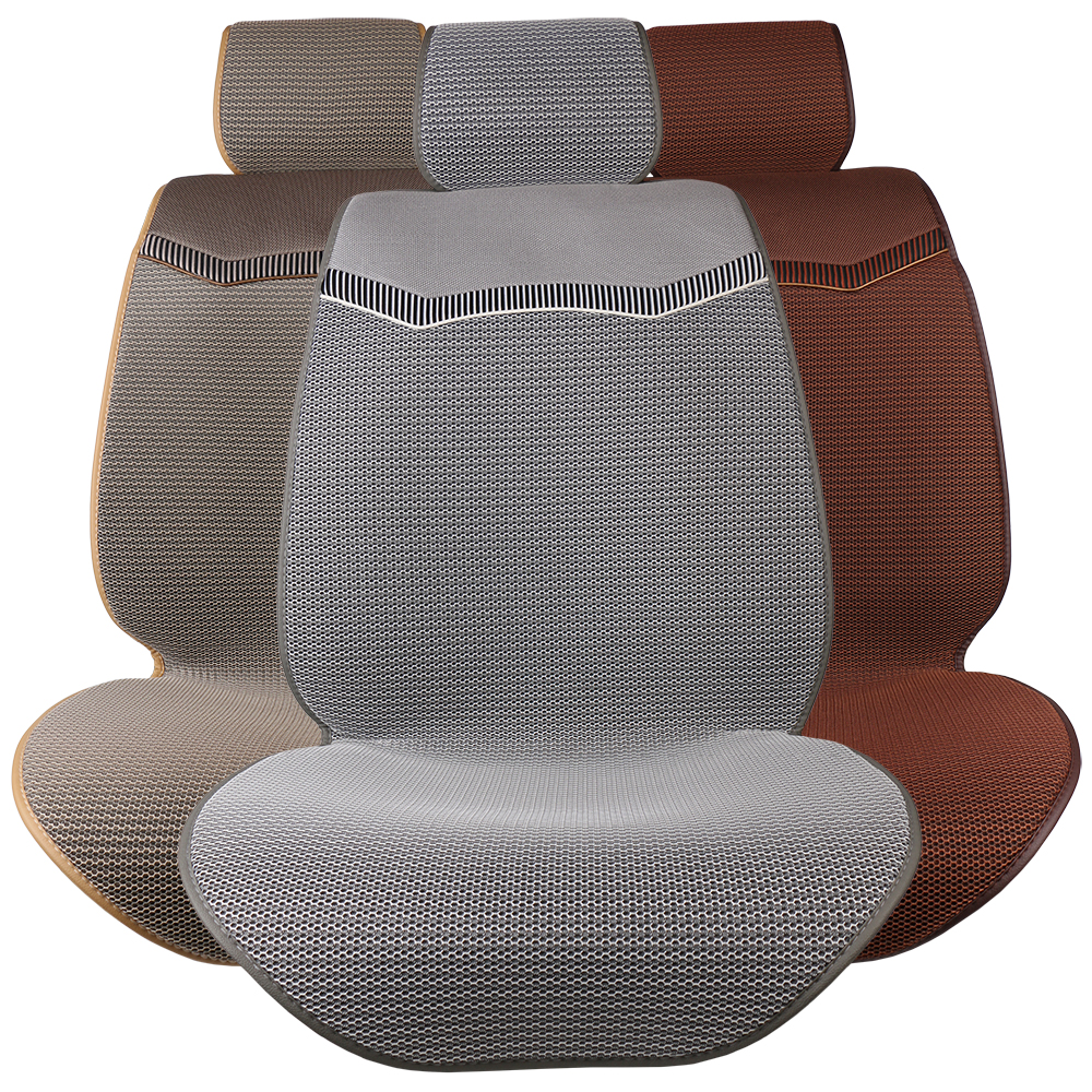 Summer Car Seat Covers Ice Silk Cushion Pad Mat Ventilated Breathable