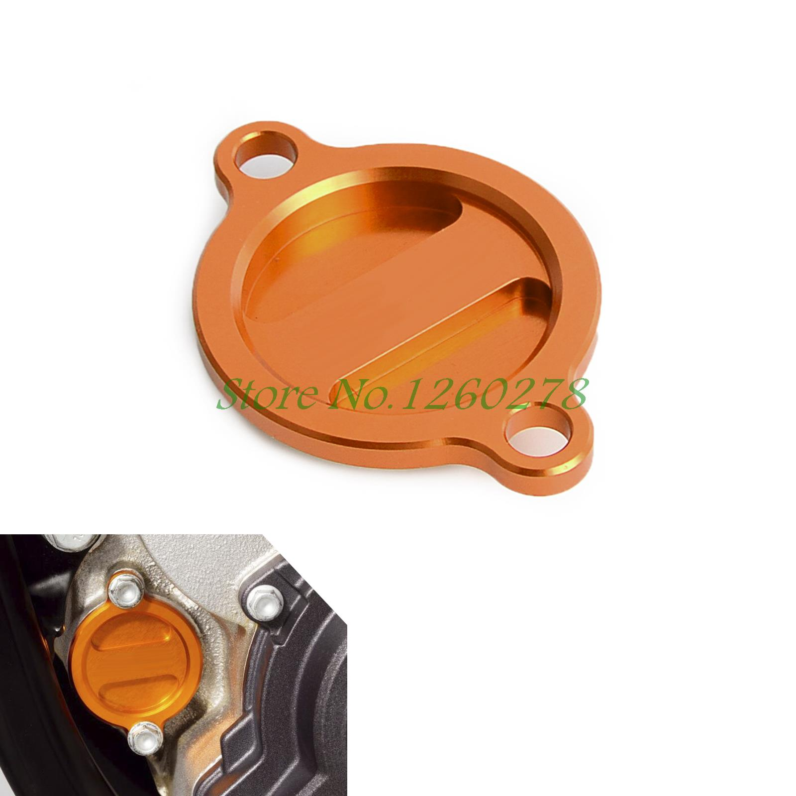 NICECNC Motorcycle Oil Filter Cover Cap Fits For KTM 250 350 450 505 530 Freeride 350 SXF EXCF SIX DAYS EXC SXSF SMR SIX DAYS