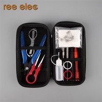 DIY Tools Sets Kit For Electronic Cigarette Rda Rta Atomizer Accessories Pre Built Coil Ceramic Tweezers