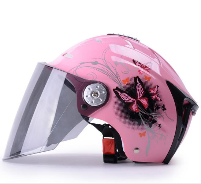 Mustang Electric Car Helmet Female Summer Motorcycle Helmet Men Half Cover Summer Sun Protection Wholesale ...