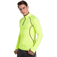 Autumn And Winter Jerseys Stretch Quick Dry Warm T Shirt Long Sleeved Light Breathable Leisure Training Running Clothes Sweater