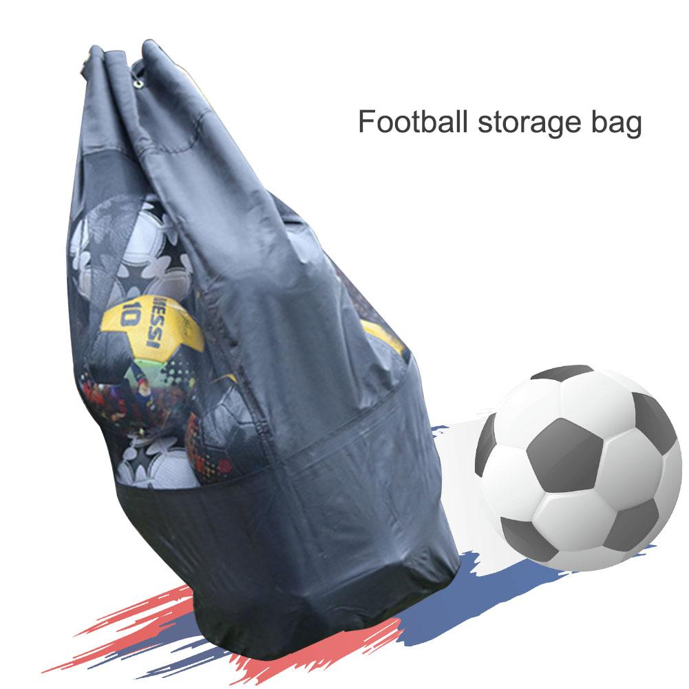 Forfar 1pcs Outdoor Sporting Soccer Net 10-15 Balls Carry Net Bag Sports Portable Equipment Basketball Balls Volleyball Painting Supplies