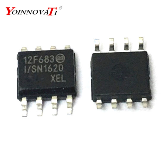 Free shipping 100pcs/lot PIC12F683 I/SN PIC12F683 PIC12F683 I 12F683 SOP 8 Best quality-in Integrated Circuits from Electronic Components & Supplies