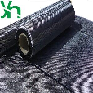Image 5 - משלוח חינם של שחור 3K 200gsm פחמן סיבי בד עובי של 0.2mm, רוחב של 20cm/30cm/50cm/100cm רכב refitting