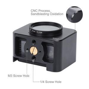 Image 5 - PULUZ אלומיניום סגסוגת מגן מקרה עבור Sony RX0 השני מצלמה כלוב & 37mm UV מסנן עדשת & עדשת שמשייה עם ברגים ומברגים