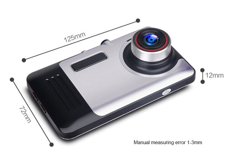 Android Car DVR Camcorder dual lens dash cam drive camera GPS Navigation video recorder Full hd 1080p auto registrator dvr wifi 23