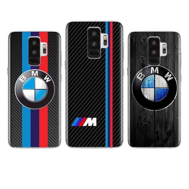 best sneakers 5e100 c4266 US $1.99 |Luxury BMW Case For Samsung Galaxy S3 S4 S5 S6 S7 EDGE S8 S9 S10  PLUS Transparent Soft Silicone Phone Cover-in Half-wrapped Case from ...