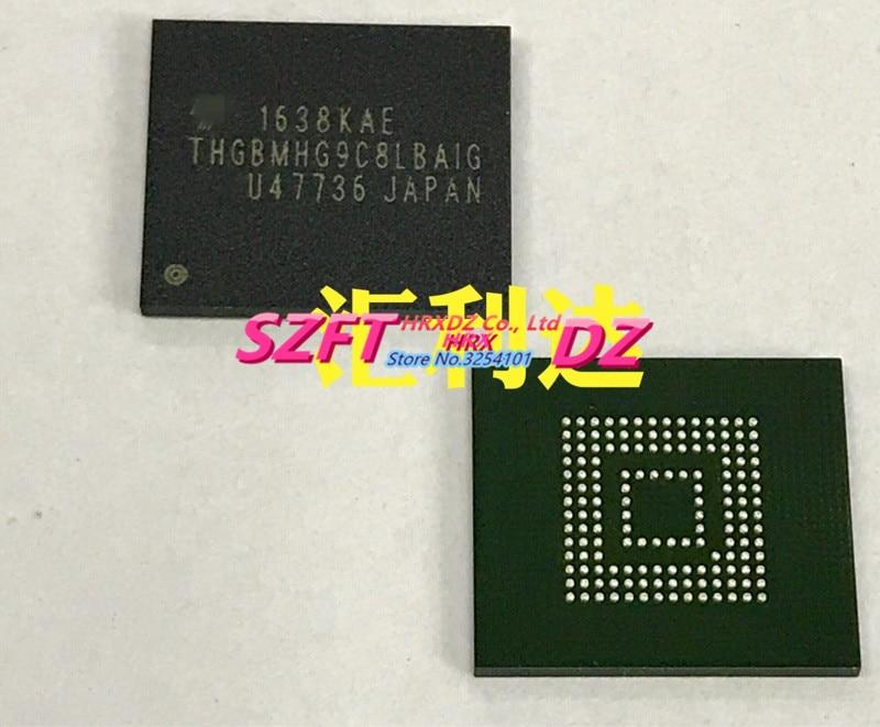 SZFTHRXDZ 100% new original THGBMHG9C8LBAIG BGA new original mpc8270vrmiba mpc8270 516 bga