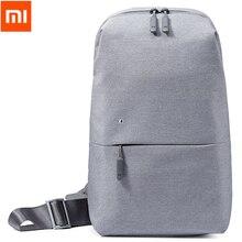Аутентичные Xiaomi путешествия бизнес рюкзак 4L груди пакет сумки для мужчин женщин полиэстер слинг Сумка для спорта и отдыха ноутбук
