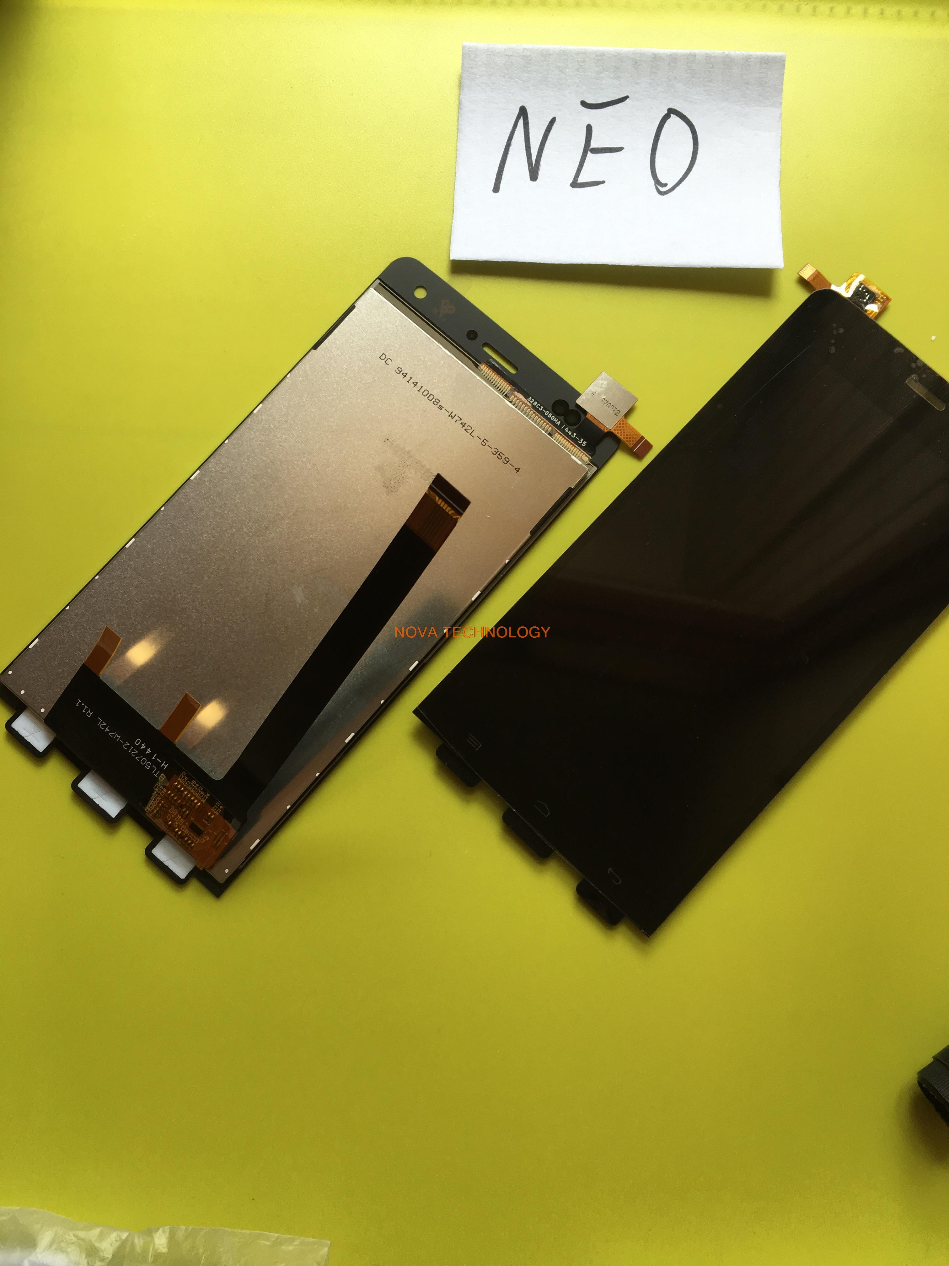 imágenes para 100% Probado Panel de piezas de Repuesto Para Explay NEO Táctil Digitalizador + Ensamblaje de la Pantalla LCD, Con Número de seguimiento
