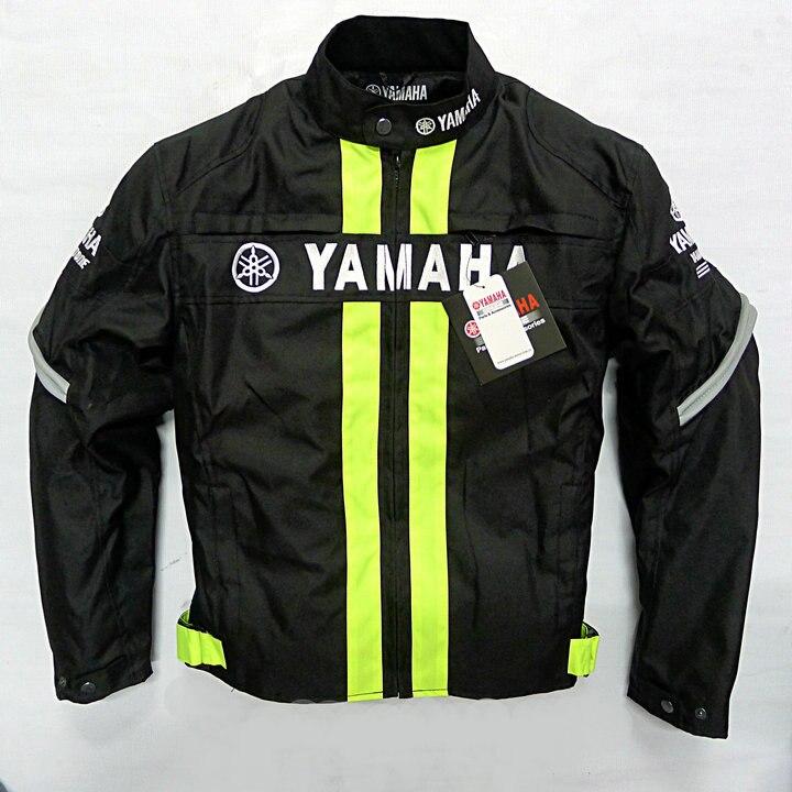2018 hiver amovible coton Liner hommes veste Moto course vestes avec équipement de protection pour Yamaha Auto Moto veste