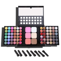 Makeup Kit 78 Color Piano Sets Eyeshadow Palette 48 Eyeshadow 24 Lip Gloss 6 Foundation Face