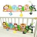 Детские Игрушки Детские Книги 0-12 Месяцев Мягкие Животных Ткань Книги Кровать Симпатичные Популярные Разворачивается Деятельность Книги Милые Животные кровать Бампер