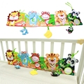 Baby Toys Baby Book 0-12 Months Soft Animal Cloth Book Bed Cute Popular Unfolding Activity Books Cute Animals Bed Bumper