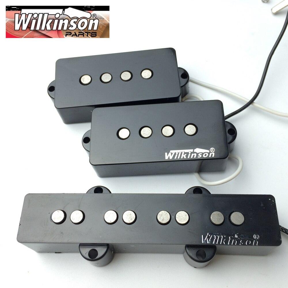 Wilkinson 4 cordes PB guitare basse électrique pick-up quatre cordes P basse Humbucker micros WPB + WBJ fabriqué en corée