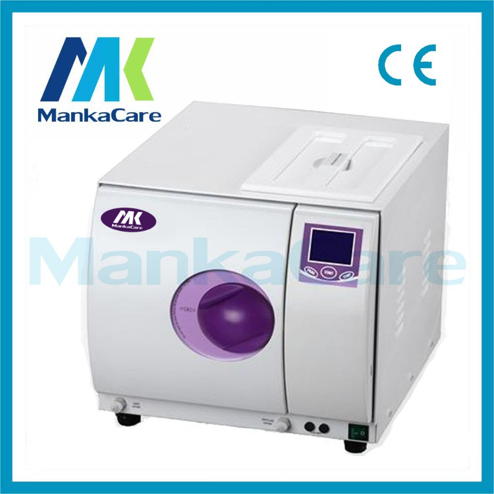 16L Pulse Vacuum steam autoclave/Europe B class dental medical sterilizer sterilization/Instruments disinfection cabinet 12l class n autoclave medical dental autoclave sterilizer dental clinic or lab instruments disinfection cabinet lcd