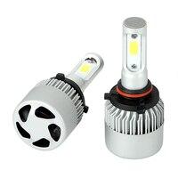 Fog Light High Power IP65 Headlight Bulbs Aluminum 1 Pair DC9 32V LED Car Lights Car