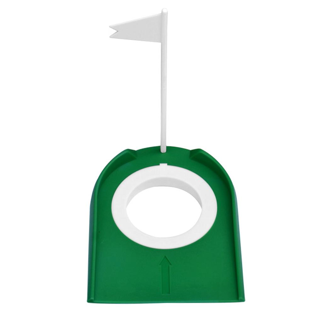 Image 4 - High Quality Golf Putting Practice Cup Golf Putting Green Regulation Cup Hole With Flag Indoor Practice Training Aids Portable-in Golf Training Aids from Sports & Entertainment