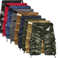 Cargo Shorts hommes Cool Camouflage été offre spéciale coton décontracté hommes pantalons courts marque vêtements confortable Camouflage hommes Cargo Shorts
