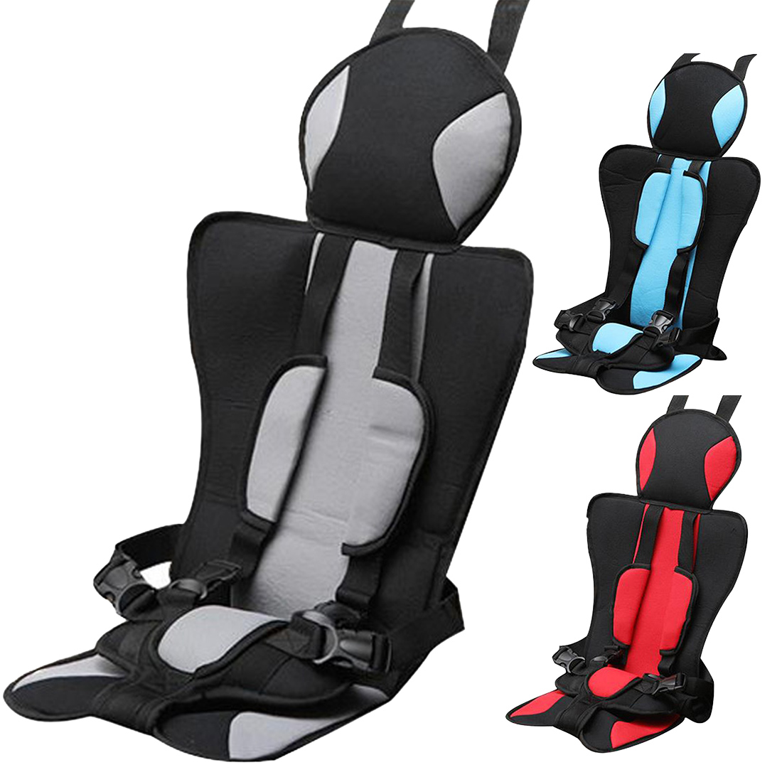 Dewtreetali Adjustable Baby Car Seat For 6 Months 5 Years Old Safe Toddler Booster Child Seats Potable Chai In Automobiles Covers
