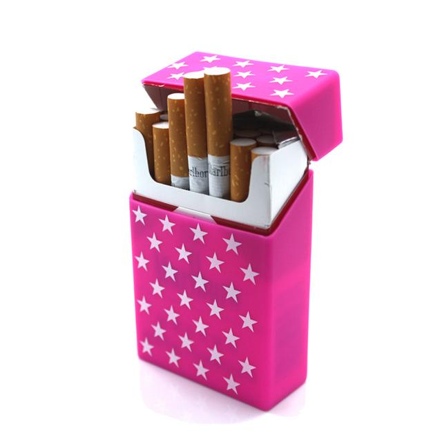 Silicone Cigarette Case New Cigarette Box Smoking  20 Cigarettes Case Cover Cool Cigarette Box Sleeve