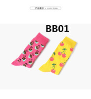 2018 new arrive fashion Women socks high quality 8pcs/set BB01