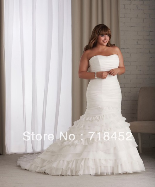 Aliexpress buy new fashion off the rack wedding dresses plus new fashion off the rack wedding dresses plus size organza a line sweetheart off the shoulder junglespirit Choice Image