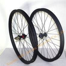 Колеса для горного велосипеда 27,5 er PLUS, карбоновые MTB колеса, 40 мм, ширина 650B, NOVATEC BOOST HUB, карбоновая колесная пара, 420 г, обод, вес