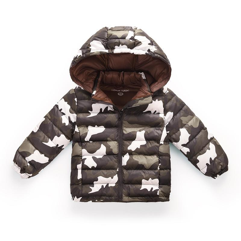 ФОТО 3 colors 2-6 Years light winter down jacket for girls boy childrens down jacket for a boy Winter coat for boys baby clothes