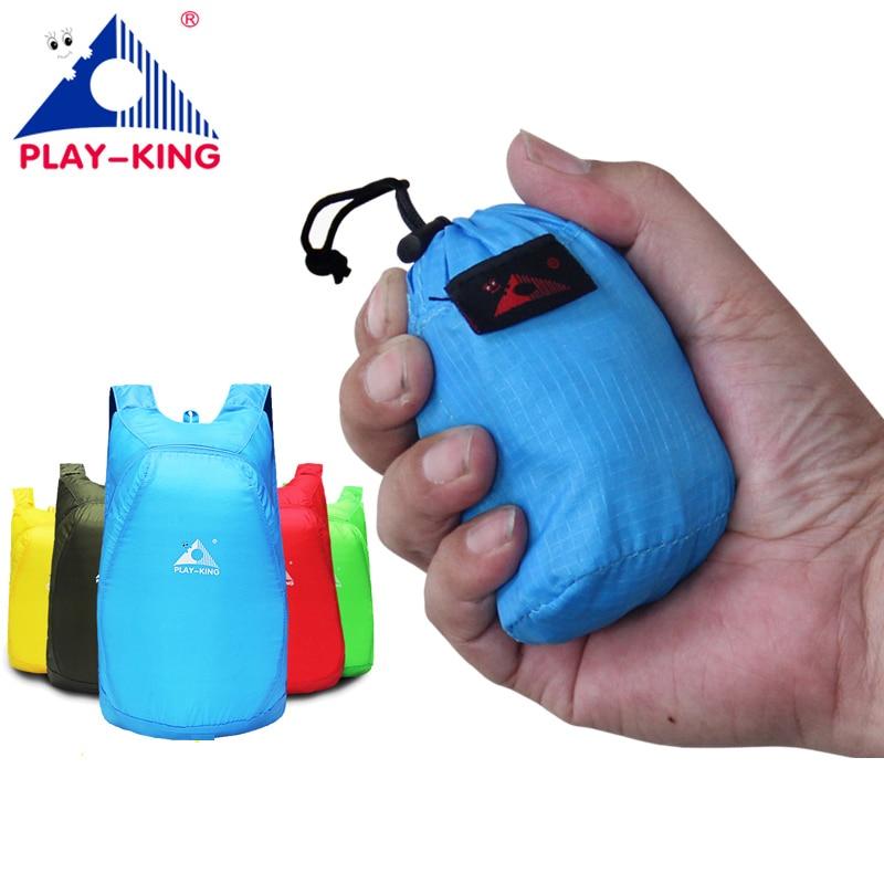 Memadamkan Folding Light Skin Bag Outdoor Unisex Sport Backpack - Beg sukan