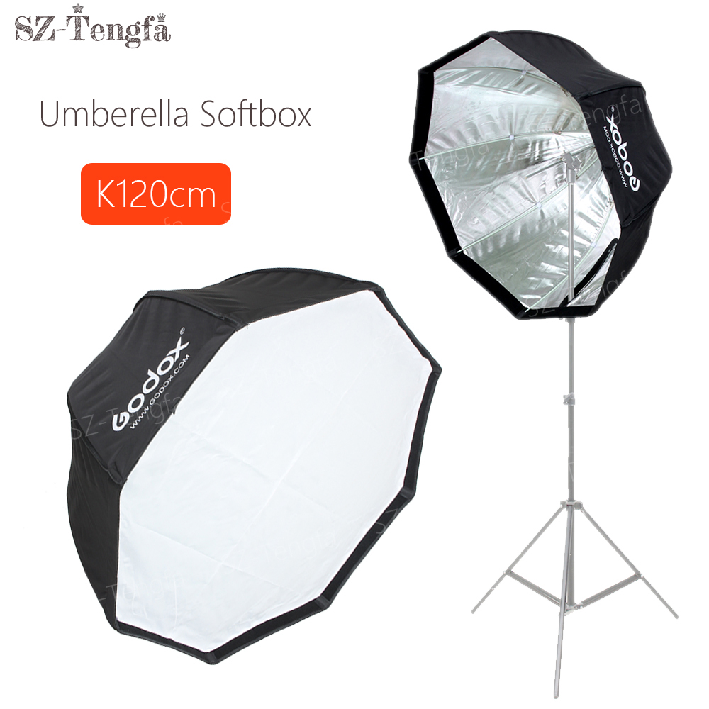 "Godox Umbrella Softbox Price In Pakistan: Godox 120cm 48"" Umbrella Octagon Softbox Flash Studio"