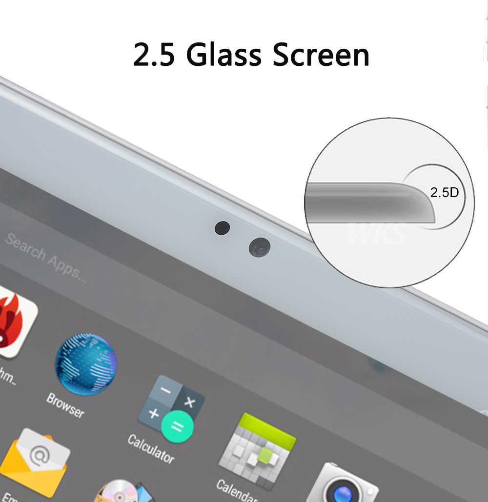 ثماني النواة 10 بوصة الكمبيوتر اللوحي 4G LTE FDD 4GB RAM 64 ROM 10 النوى أندرويد 7.0 OS 1280*800 IPS 2.5D زجاج الشاشة 10.1 لعيد الميلاد