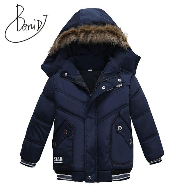 0addd8ee63f8 2018 Winter Baby Warm Down Coat Baby Boys Girls Coat Jacket Hooded ...