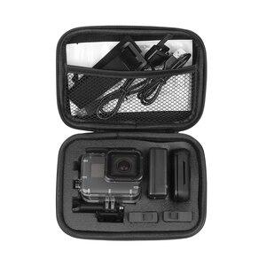 Image 5 - Небольшой ящик для хранения экшн камеры SHOOT EVA, чехол для GoPro Hero 8 7 6 5 SJCAM SJ7 Xiaomi Yi 4K Lite h9 Go Pro 7 6 5, аксессуары